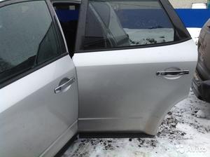 Дверь задняя левая на Nissan Murano 2003 голая