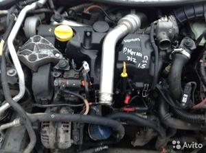 Двигатель на Рено Меган II 2008 г. дизель