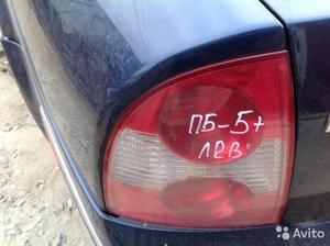 Задний левый стоп на Volkswagen Passat В5+
