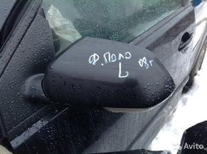 Зеркало левое на Volkswagen Polo
