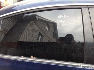 Стекло задней правой двери на Passat B5+