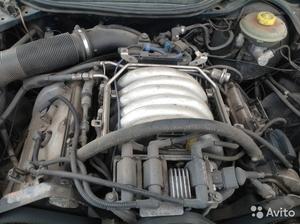 Двигатель 2.8 на audi A6 C4 1996 модель аск