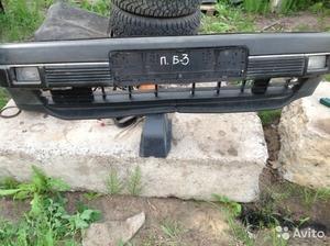 Фольцваген Пассат Б 3 бампер передний с туманками