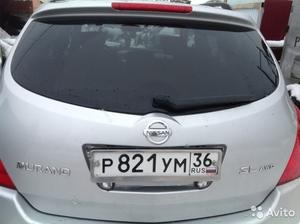 Крышка багажника голая на Nissan Murano 2003 г.в