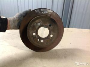 Тормозной диск (блин) зад на Mersedes ML 163