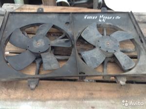 Вентиляторы охл. радиатора на Nissan Murano
