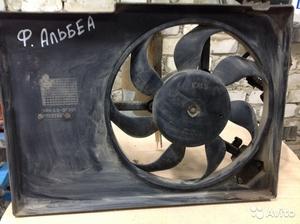 Вентилятор охлаждения радиатора на Fiat Albea