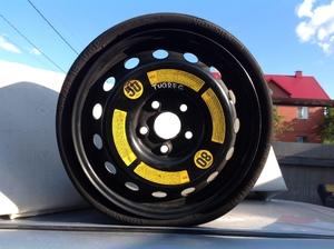 оригинальное запасное колесо на Volkswagen Touareg