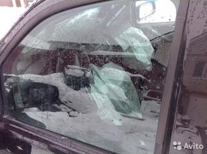 Стекло двери пер.лев. на Nissan Pathfinder 2005 г