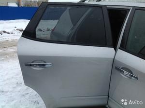 Дверь задняя правая на Nissan Murano 2003 голая