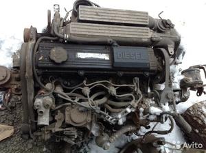 Двигатель на Mazda 626 дизельный