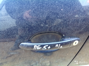 Ручка двери пер. лев. на Volkswagen Passat B5+