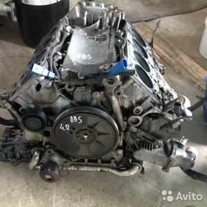 Блок двигателя в сборе на Audi Allroad 2004 г