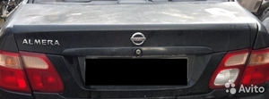 Крышка багажника на Nissan Almera