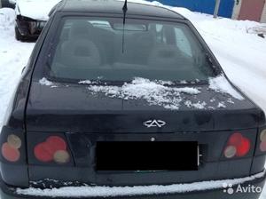 Крышка багажника chery Amulet 2006