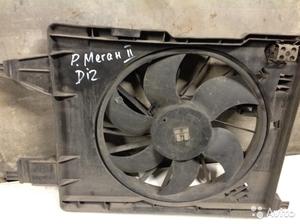 Вентилятор охлаждения на Рено Меган 2 дизель