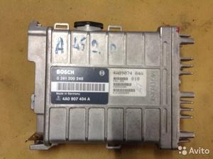 Блок управления на Audi 100 C4 2.0