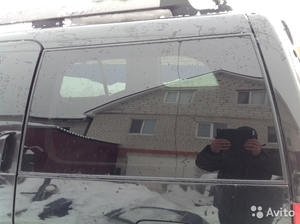 Заднее лев.стекло на Nissan Pathfinder 2005 г