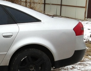 Крыло зад. левое на Audi А6 С5 седан