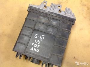 Блок управления на Volkswagen Goif 3 1.9 TDI AHU