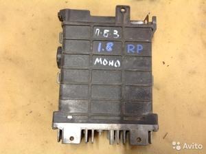 Блок управления на Volkswagen Passat B3 моно 1.8