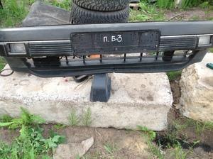 Volkswagen Passat B 3 бампер передний с туманками