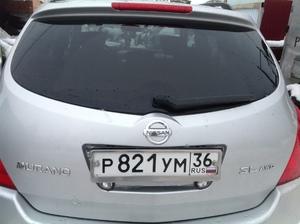 Крышка багажника  на Nissan Murano 2003 г.в