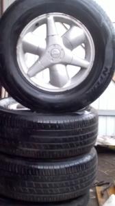 колёса для Nissan Patfhinder